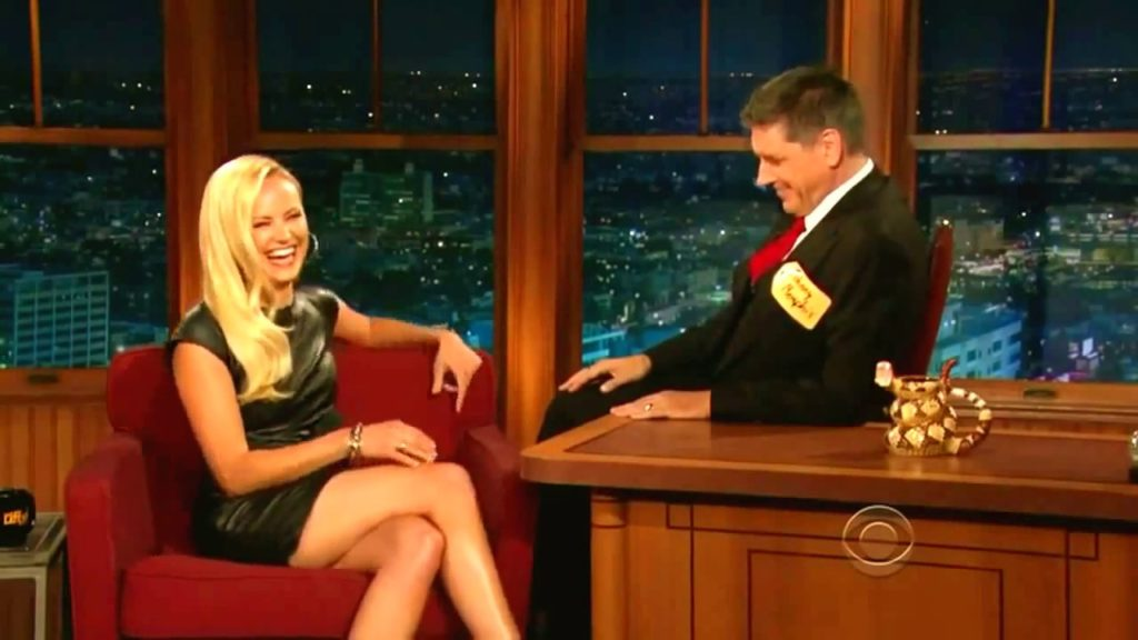 Craig Ferguson making a girl laugh