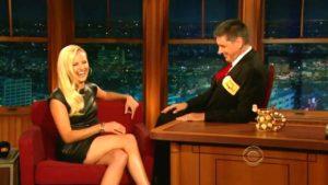 Craig Ferguson making a girl laugh